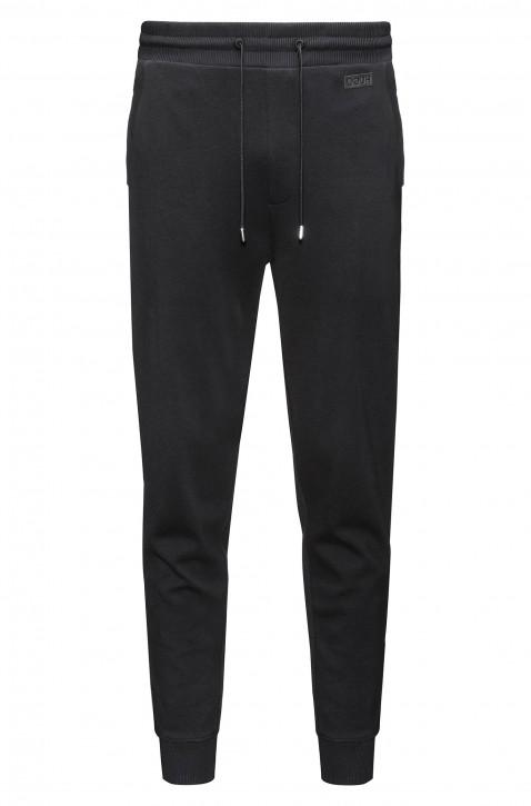 HUGO Regular-Fit Jogginghose Dandler aus Baumwolle schwarz 001