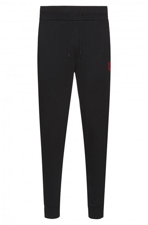 HUGO Regular-Fit Jogginghose DAKARTA aus reiner Baumwolle schwarz 001