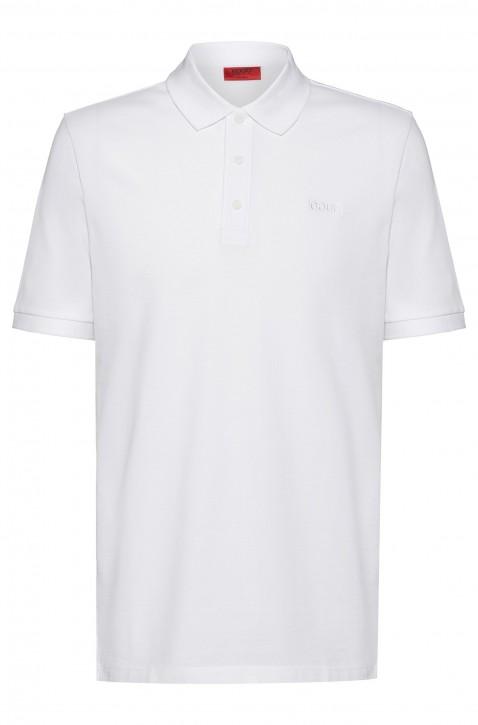 HUGO Slim-Fit Poloshirt DINOS202 aus Stretch-Baumwolle weiss 100