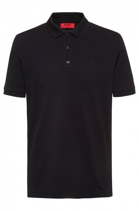 HUGO Slim-Fit Poloshirt DINOS202 aus Stretch-Baumwolle schwarz 001