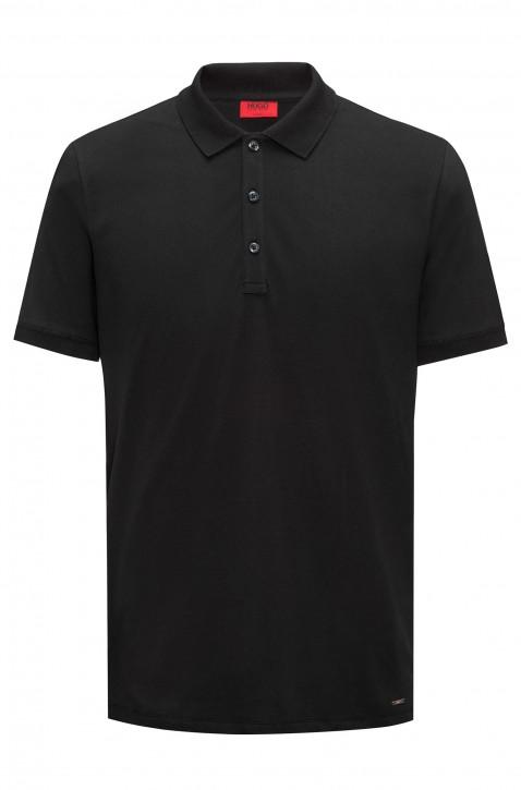 HUGO Poloshirt Dinos aus softer Baumwolle Farbe schwarz 001
