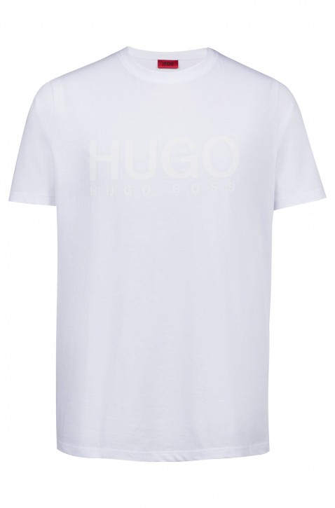 HUGO Relaxed-Fit T-Shirt Dolive-U1 aus Baumwoll-Jersey mit Logo Farbe weiss 100