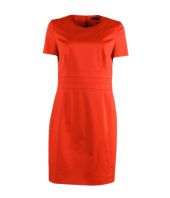 HUGO DRESS KLARISI FARBE 822 Bright Orange
