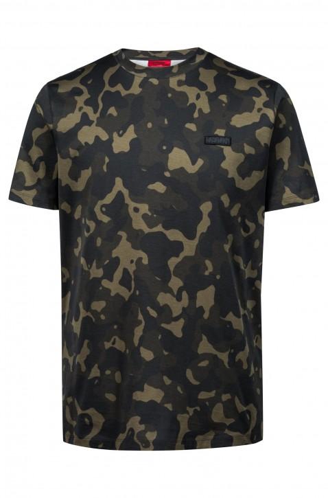 HUGO Tarn Logo Tee Shirt DURNED_U2 Farbe camouflage 961