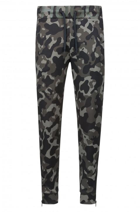 HUGO Jogginghose DUROS -U1 aus Baumwoll-Jersey mit Camouflage-Print 961