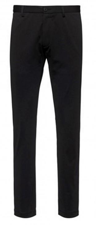 HUGO Slim-Fit Hose David204 aus knitterfreiem Funktions-Jersey schwarz 001