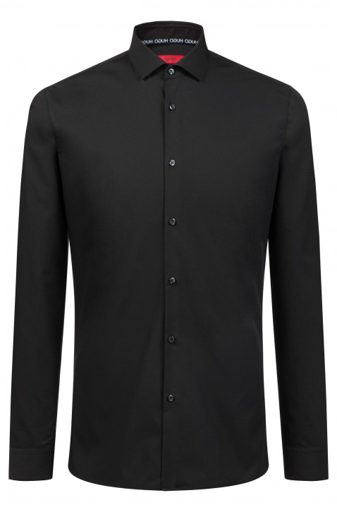 HUGO Extra Slim-Fit Hemd ERONDO aus Baumwolle mit bügelleichtem Finish schwarz 001