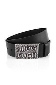 HUGO Gürtel ´Galipo-n` mit Pin-Verschluss FARBE 001 SCHWARZ
