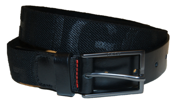 HUGO  Stretchgürtel GILD-TAPE_SZ30  mit Hugo Logo schwarz