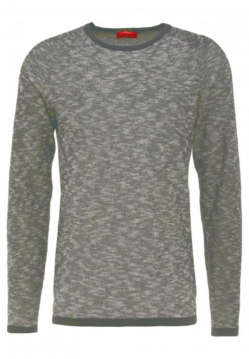 HUGO Strick Pullover Sork Farbe grau 032