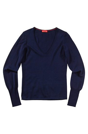 HUGO PULLI WOMAN SHEVIA FARBE 464 OPEN BLUE