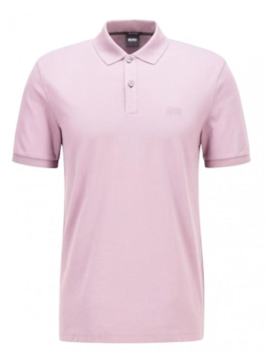 Hugo Boss Regular-Fit Poloshirt PALLAS aus feinem Piqué rosa 689