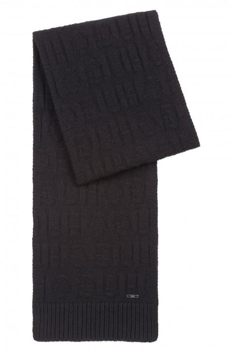 HUGO Geschenk Set  ZANTAS SET  mit Mütze und Schal mit Reversed-Logo schwarz 001