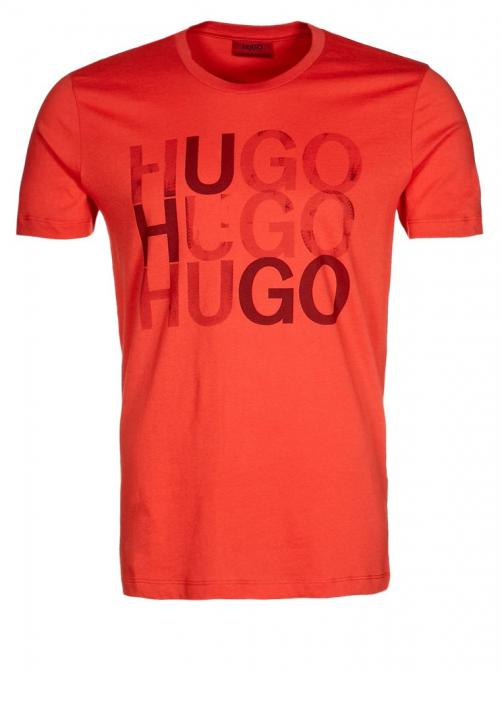 HUGO T-SHIRT DULIO FARBE ROT 622