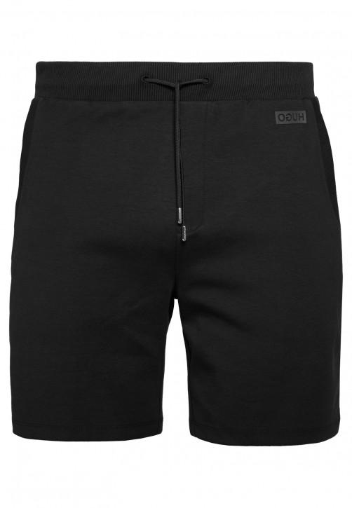 HUGO Shorts DIZ aus Interlock-Baumwolle mit Tunnelzug schwarz 001