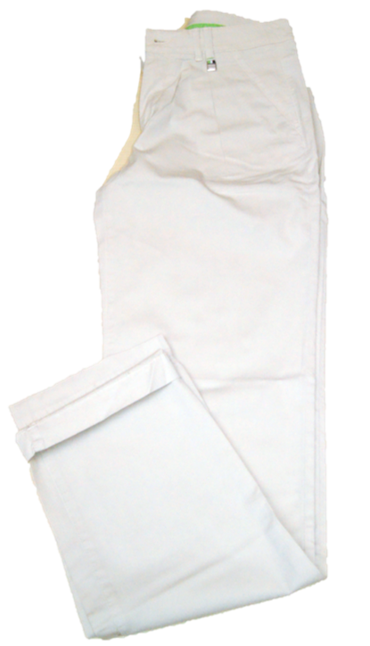 Hugo Boss Regular-Fit Chino HYDIA-D mit Bundfalte aus elastischer Baumwolle beige 274