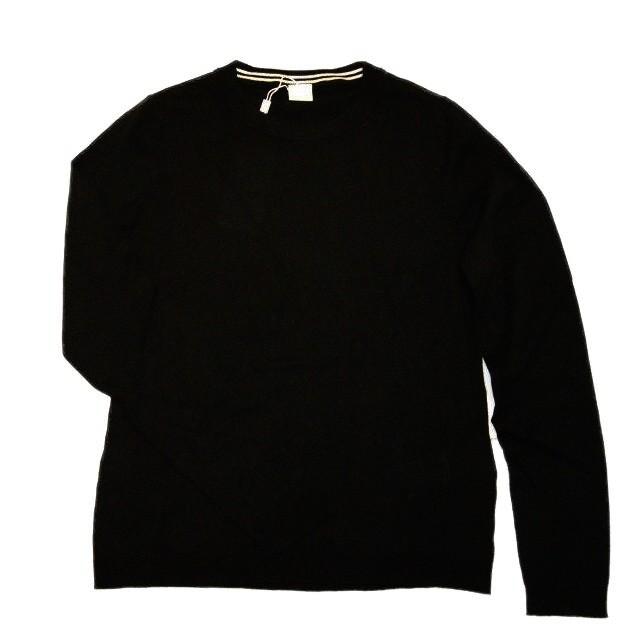 BOSS Slim-Fit Pullover IDDINA aus edlem Baumwoll-Mix Farbe schwarz 001