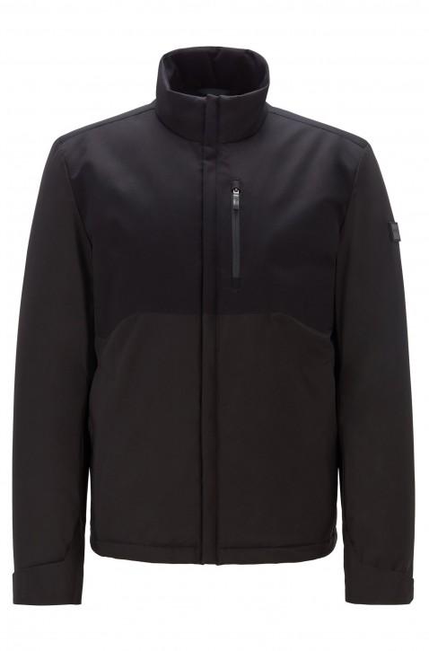 BOSS Wasserabweisende Jacke J_NAVAS mit Absteppungen schwarz 001
