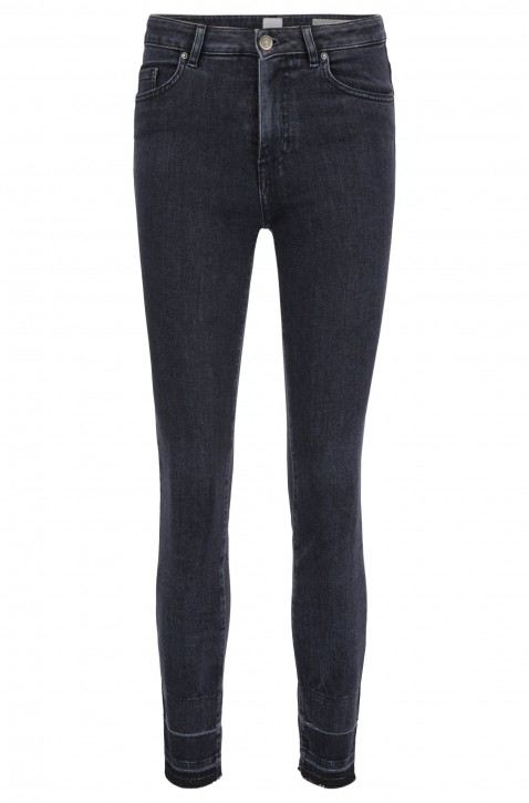 BOSS Skinny-Fit Jeans J11 Murietta  aus Powerstretch-Denim in Cropped-Länge grau 027