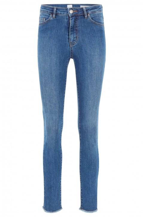 BOSS Skinny-Fit Jeans J11 MADERA IRIS aus Powerstretch-Denim in Cropped-Länge blau 440