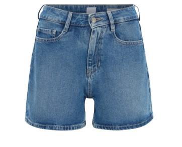 BOSS Relaxed-Fit Shorts J21 OCEANSIDE BALCONY  aus komfortablem Stretch-Denim blau 432