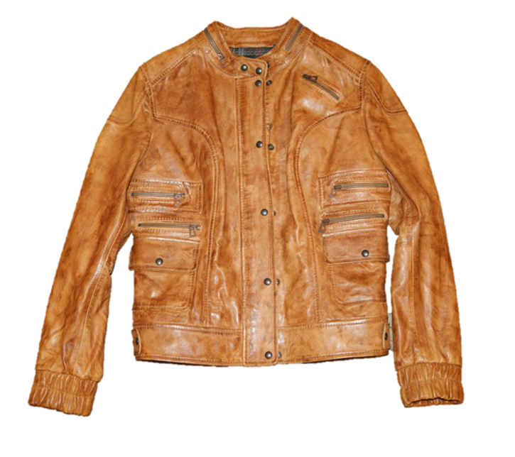 BOSS ORANGE LEDERJACKE JITALY FARBE BROWN 220