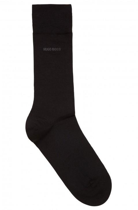 BOSS Socken JOHN RS UNI WO aus Schurwoll-Mix mit Naturetexx® Finish schwarz 001