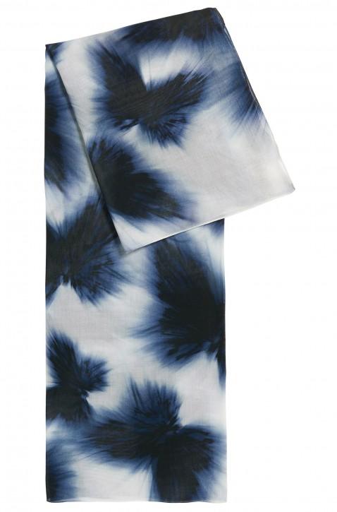 BOSS Schal Nafly aus Baumwoll-Mix mit Modal mit Schmetterling-Print blau 994