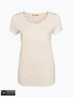 BOSS ORANGE T-SHIRT TORENA FARBE NATURAL 109