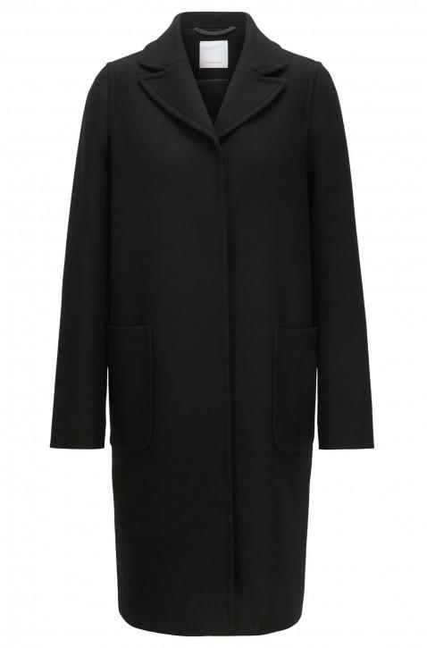 BOSS Regular-Fit Mantel Ohlui1 aus Woll-Mix mit Kaschmir Farbe schwarz 001