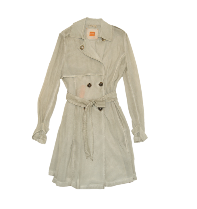 BOSS ORANGE TRENCHCOAT OTRENCHA-D FARBE BEIGE 277
