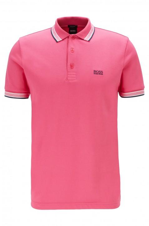 BOSS Poloshirt aus Baumwoll-Piqué PADDY mit Logo an der Kragenunterseite pink 660
