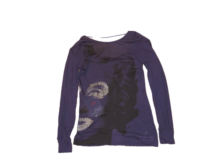 PEPE JEANS ANDY WARHOL T-SHIRT ANNETTE FARBE LILA