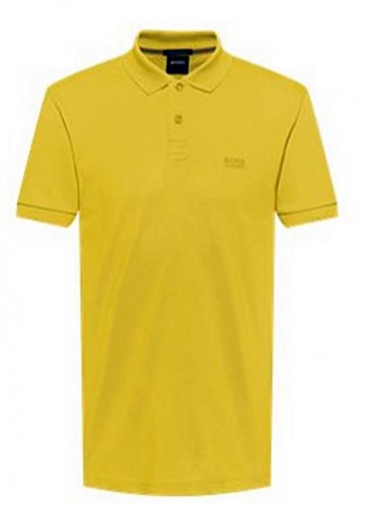 Hugo Boss Poloshirt PIRO aus Pima-Baumwolle Farbe gelb 724