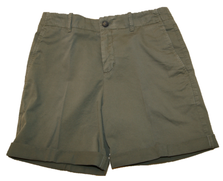 BOSS Relaxed-Fit Chino-Shorts Saclea-D aus elastischer Baumwolle oliv 252