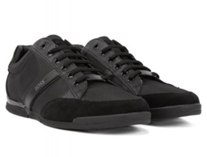 BOSS Hybrid-Sneakers SATURN_LOWP_MX mit feuchtigkeitsableitendem Innenfutter schwarz 001
