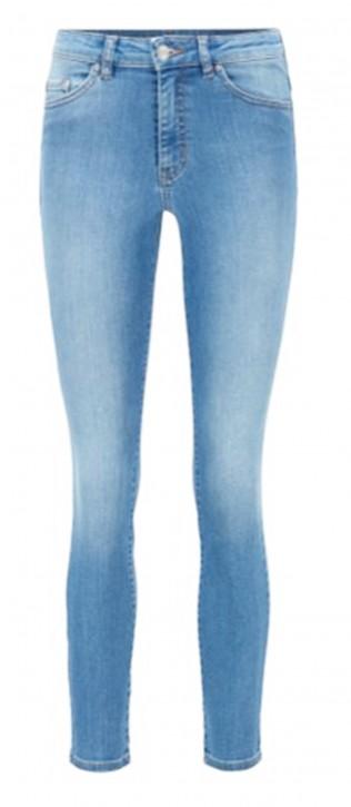 HUGO BOSS Skinny-Fit Jeans SKINNY CROP 1.0 aus Super-Stretch-Denim  blau 429