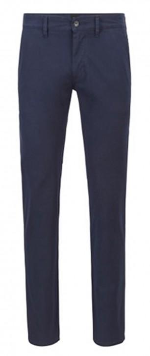 HUGO BOSS Slim-Fit Schino-Slim Hose aus strukturierter Stretch-Baumwolle 404