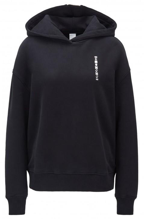 BOSS Kapuzen-Sweatshirt TARIVA mit linearen Logos und Colour-Block-Einsätzen