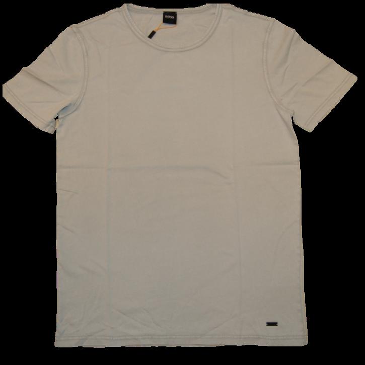 BOSS Regular-Fit T-Shirt TOKKS aus Baumwolle mit Rund Ausschnitt Farbe grau 043