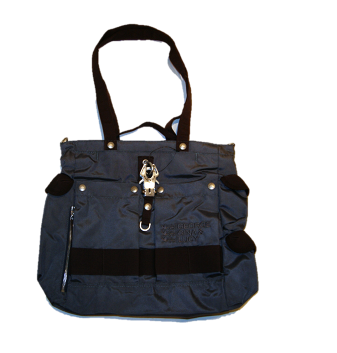 GEORGE GINA & LUCY HANDTASCHE TWO TO FOUR  FARBE BROWN -BLUEGREY 650