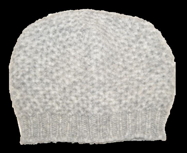 HUGO BOSS Strickmütze WANDERSY in einem Grobstrickmuster Farbe grau 040