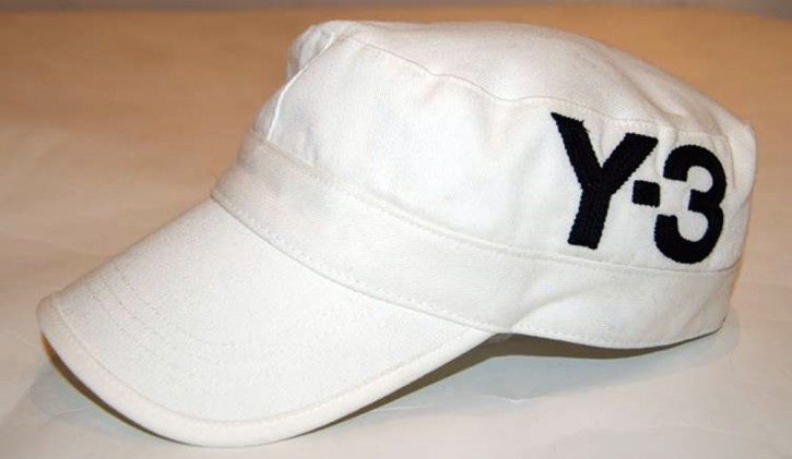 Y3 CAP MILITARY FARBE WEISS GR M