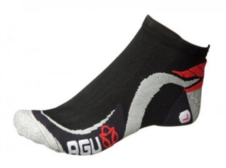 AGU Socken `AGU Estate` kurz Technical cycling Socke schwarz