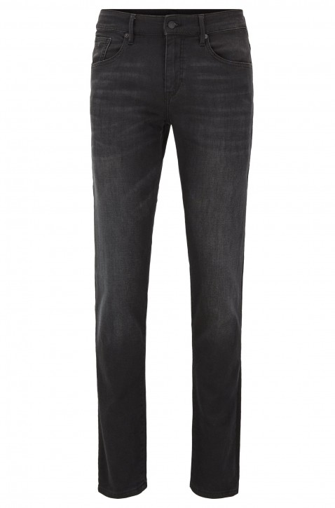 HUGO BOSS Extra Slim-Fit Jeans CHARLESTON BC PUBLIC aus Stretch-Baumwolle schwarz 003