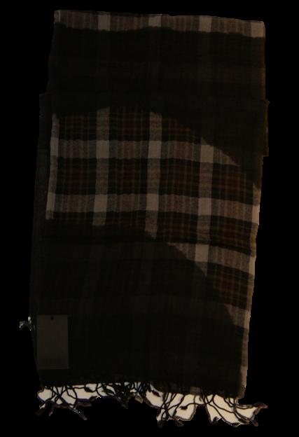 CLOSED SCHAL KAROMIX FARBE  BRAUN 654