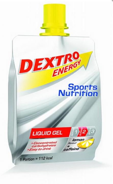 DEXTRO ENERGY LIQUID GEL 1 X 60ml lemon