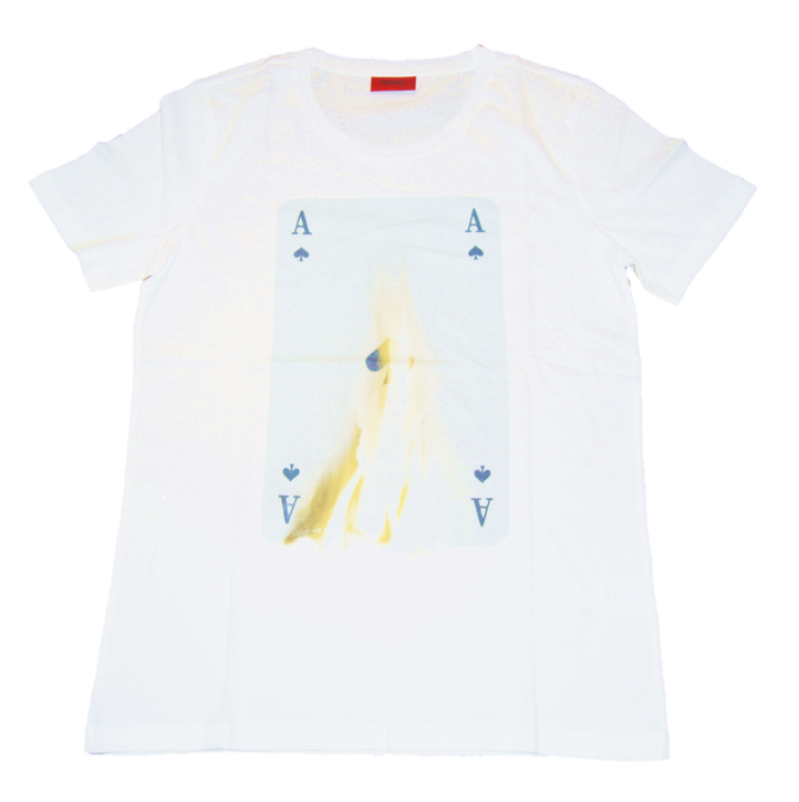 HUGO MEN TEE SHIRT DOKER FARBE WHITE 100