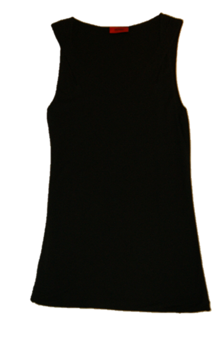 HUGO TOP DOLLIS FARBE SCHWARZ 001
