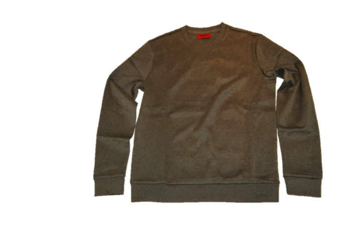 HUGO SWEAT SHIRT DOORS FARBE GRAU 021